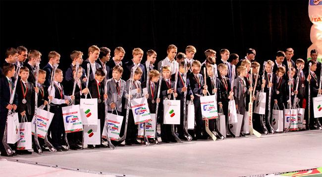 ХК «Ак Барс» наградил своих юных чемпионов