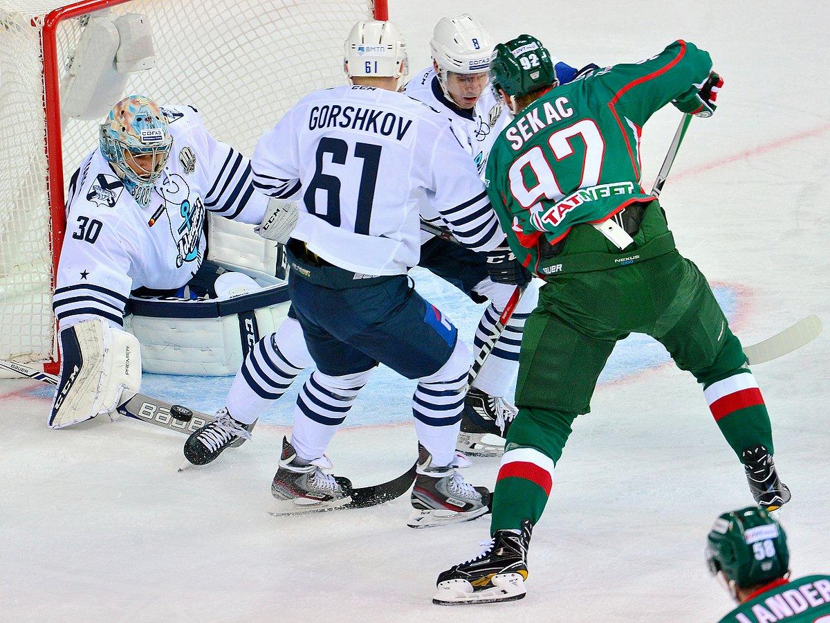 Ак Барс — Слован. Прогноз на матч 13.11.2018. КХЛ