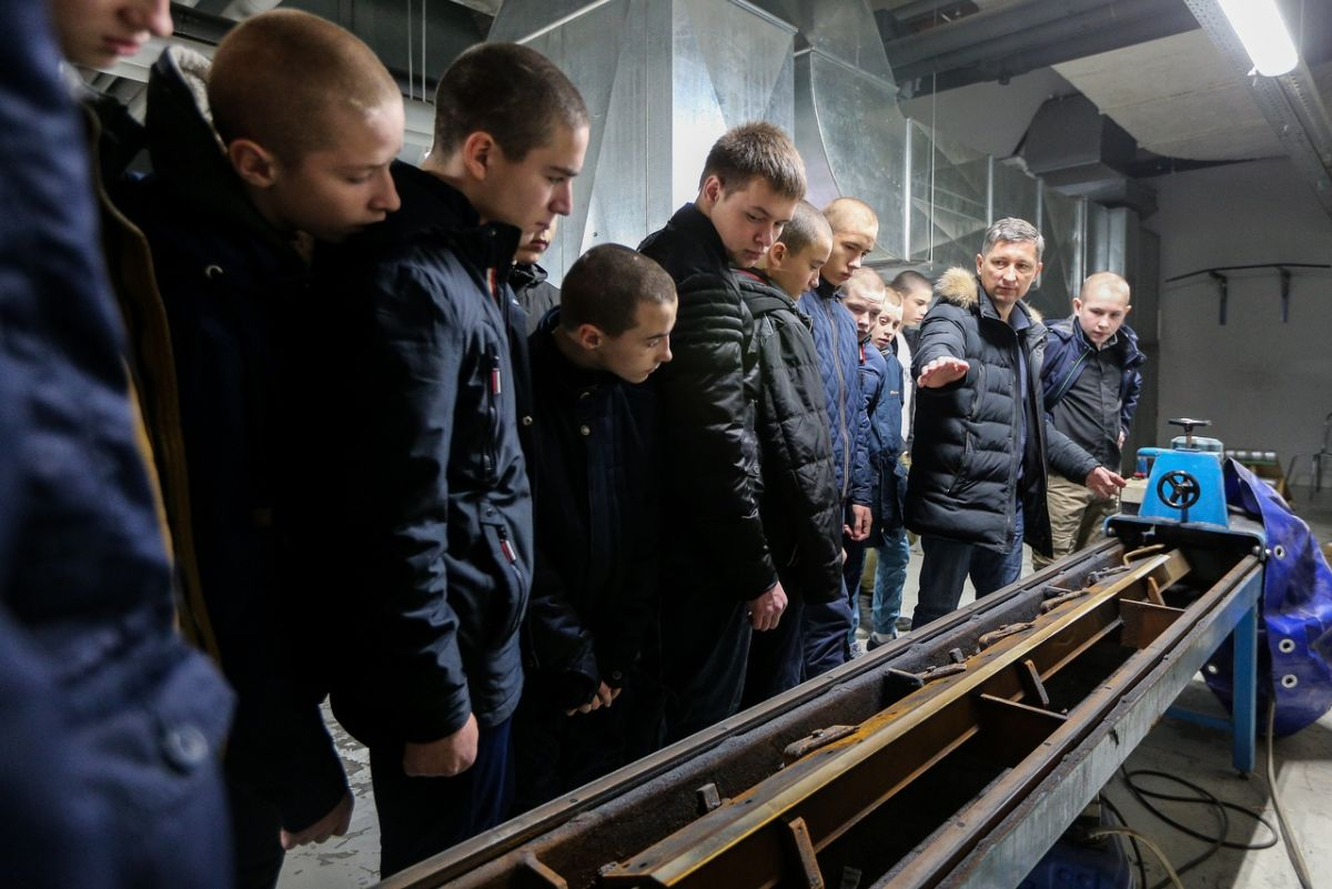 Ученики специальной школы в гостях у «Ак Барса». 02.12.2018