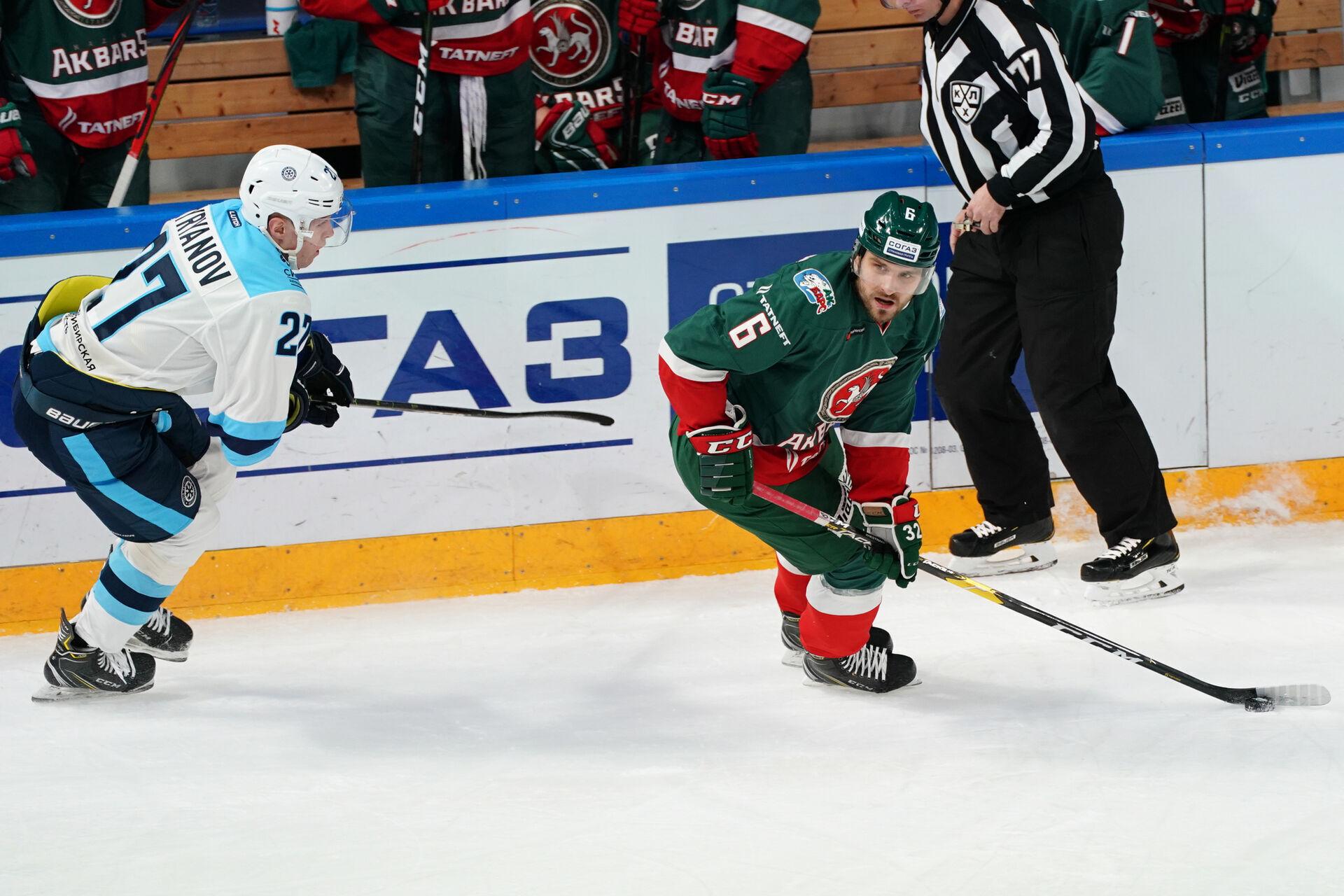 «Ак Барс» − «Сибирь». Всё об игре. 29.10.2020